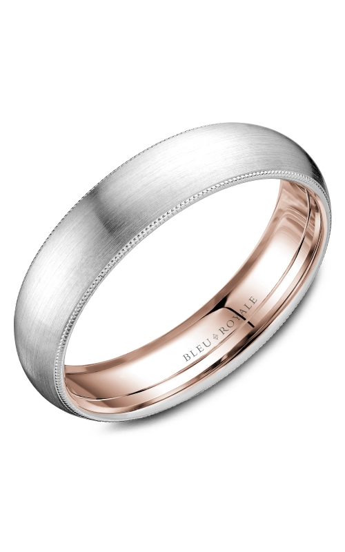 Bleu Royale Wedding band Men's Wedding Bands RYL-040WR55 product image