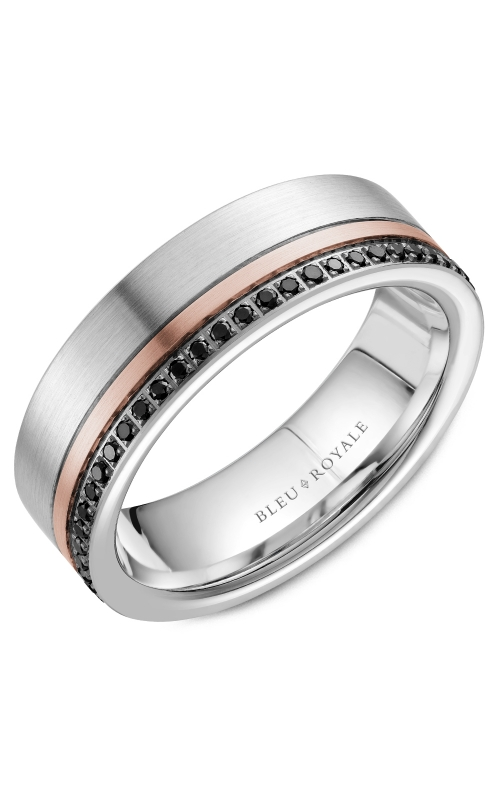 Bleu Royale Men's Wedding Bands Wedding band RYL-070RWBD7 product image