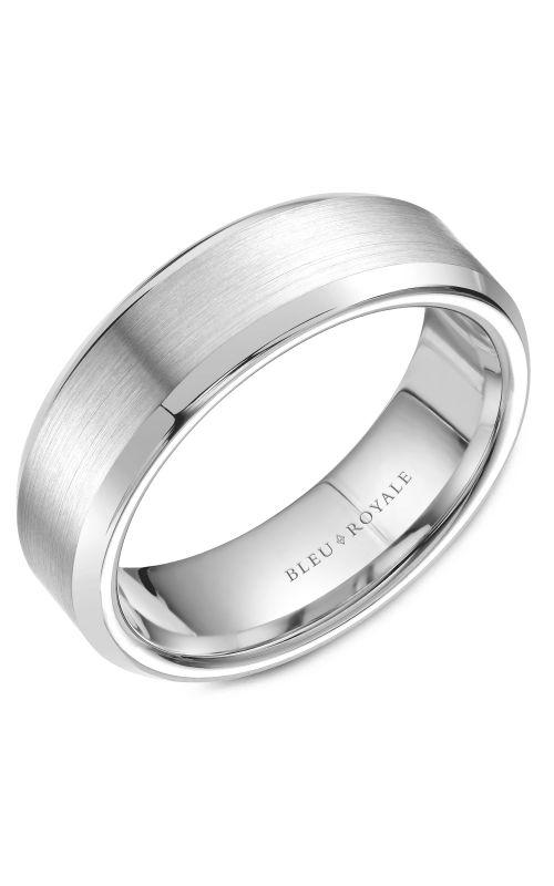 Bleu Royale Men's Wedding Bands Wedding band RYL-075W7 product image