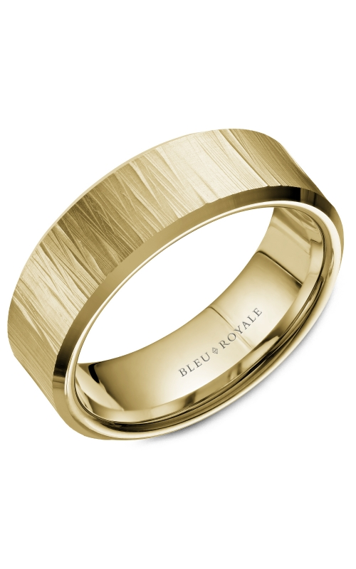 Bleu Royale Men's Wedding Bands Wedding band RYL-088Y75 product image