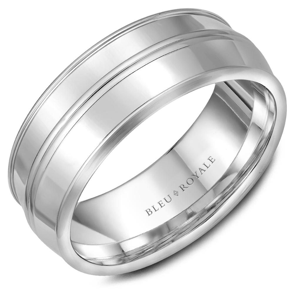 Bleu Royale Men's Wedding Band RYL-013W85 product image
