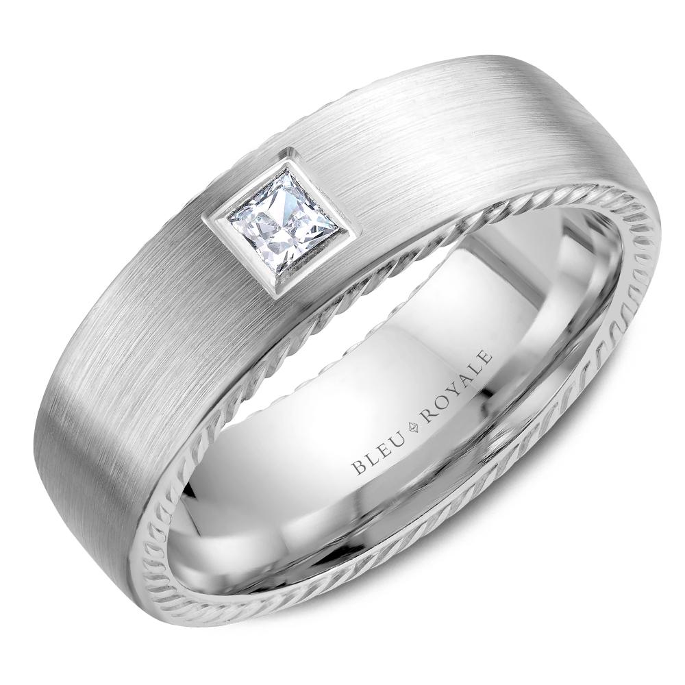 Bleu Royale Men's Wedding Band RYL-021WD65 product image