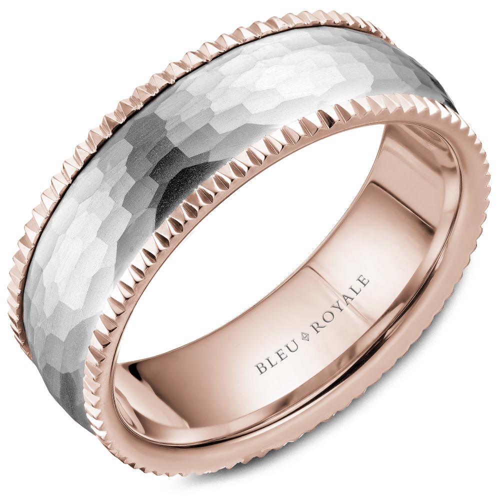 Bleu Royale Men's Wedding Band RYL-029WR75 product image