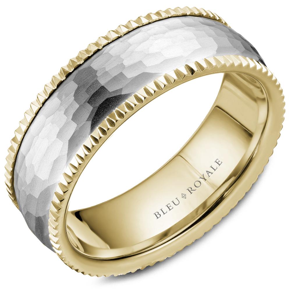 Bleu Royale Men's Wedding Band RYL-029WY75 product image