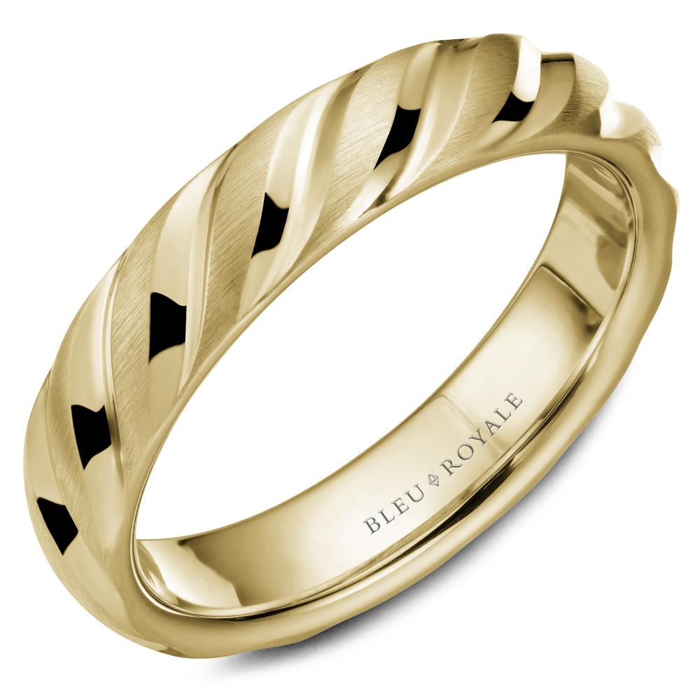 Bleu Royale Men's Wedding Band RYL-043Y5 product image
