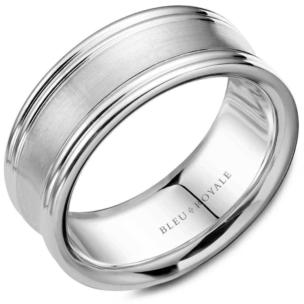 Bleu Royale Men's Wedding Band RYL-052W8 product image