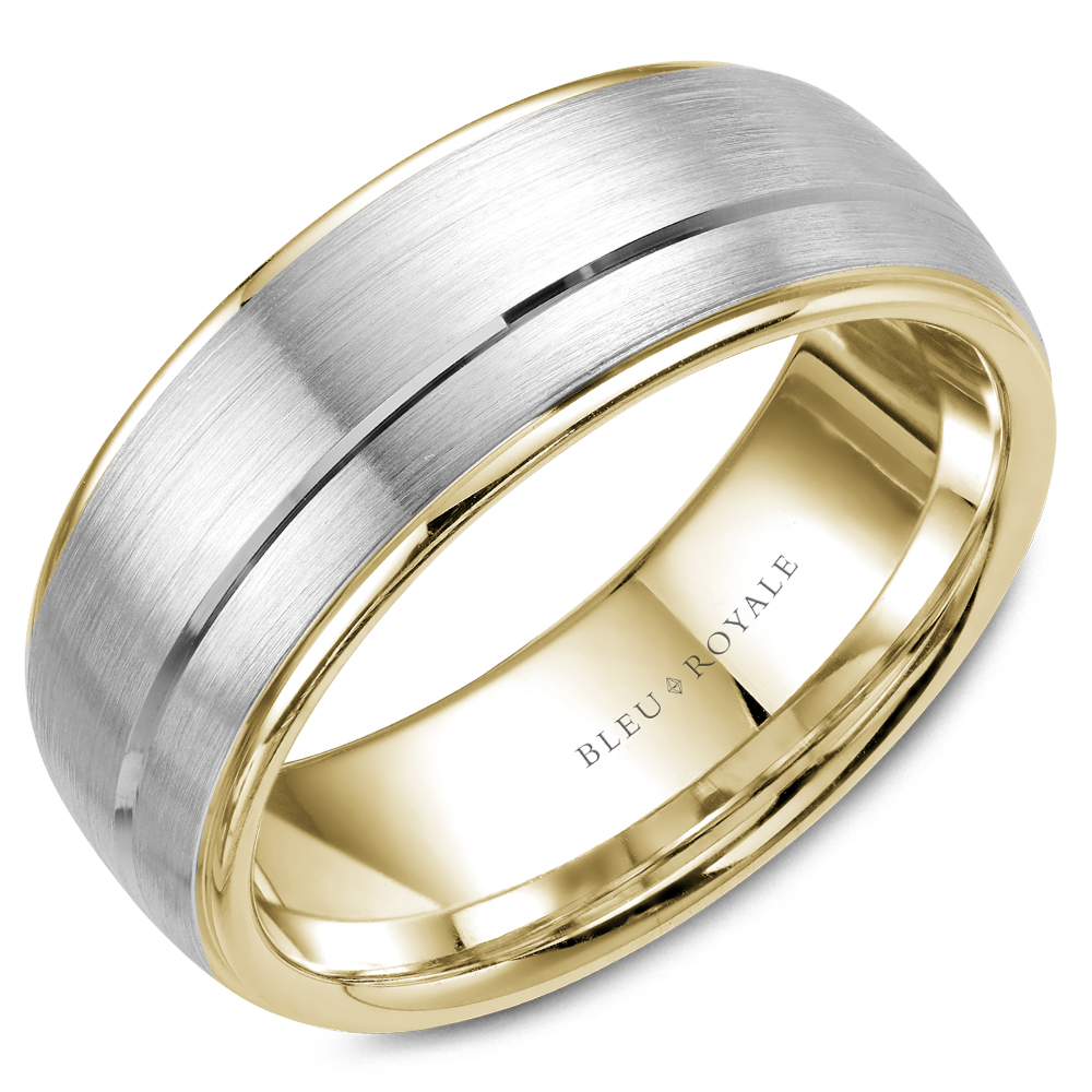 Bleu Royale Men's Wedding Band RYL-002WY85 product image