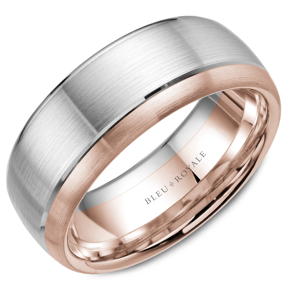 Bleu Royale Men's Wedding Band RYL-003WR85 product image