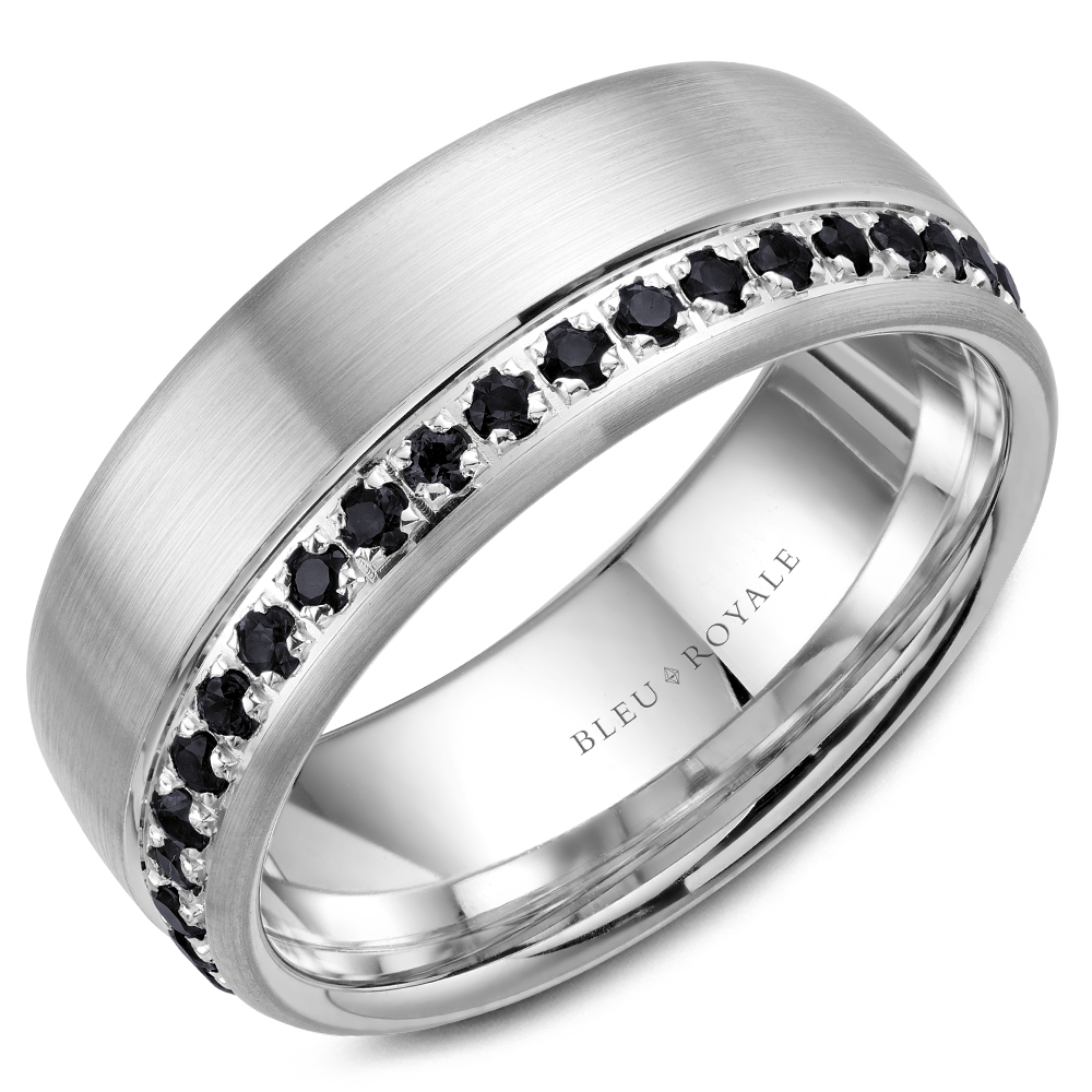 Bleu Royale Men's Wedding Band RYL-015WBD85 product image