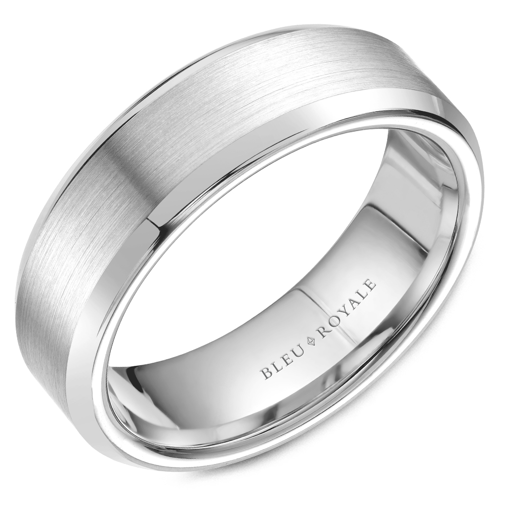 Bleu Royale Men's Wedding Band RYL-075W7 product image