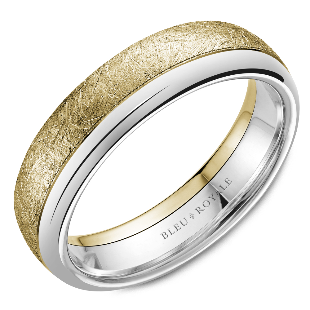 Bleu Royale Men's Wedding Band RYL-081YW6 product image