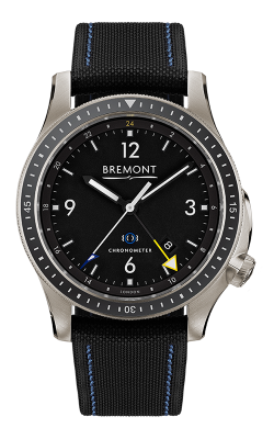 Bremont Boeing Watch BB1-TI-GMT/BK/R product image