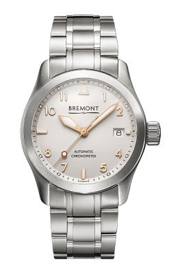 Bremont Solo Watch SOLO-37/SI-RG/BR product image