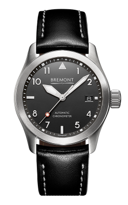 Bremont Solo-37 Watch SOLO-37/BK-SI/R product image