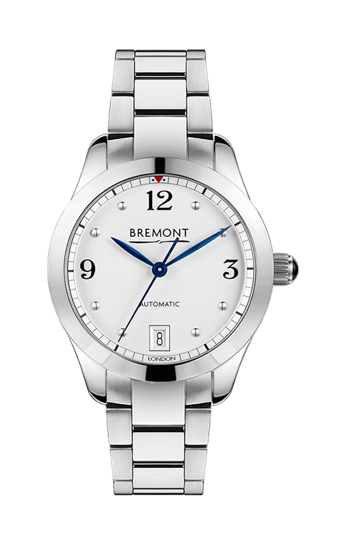Bremont Solo-34 Watch SOLO-34-AJ-WH-BR product image