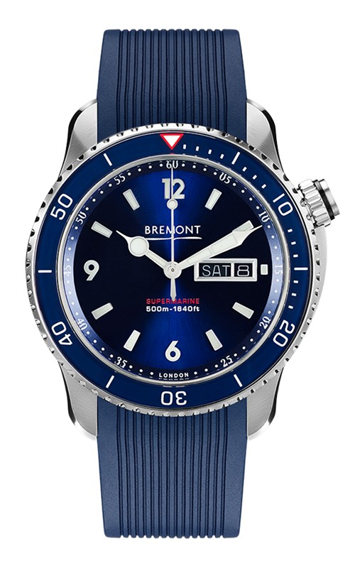 Bremont Supermarine Watch S500/BL/2018/R product image