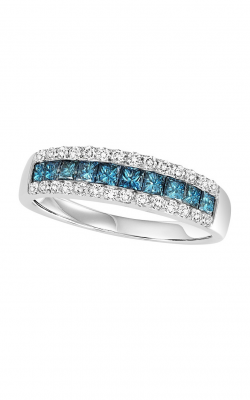 Bridal Bells 14K Blue & White Diamond Band WB6026W product image