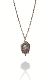 Brother Wolf Men's Necklaces KS39-SSR