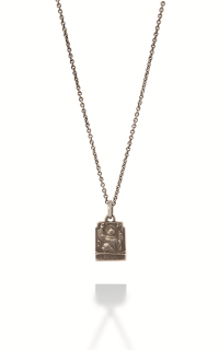 Brother Wolf Men's Necklaces KS78-SS