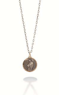 Brother Wolf Men's Necklaces KS5-14Y