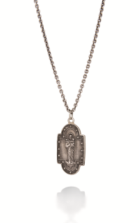 Brother Wolf Men's Necklaces KS35-SS