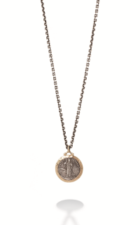 Brother Wolf Men's Necklaces KS63-14Y