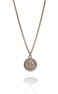 Brother Wolf Men's Necklaces KS17-SS