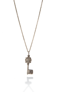 Brother Wolf Men's Necklaces KS15-SS