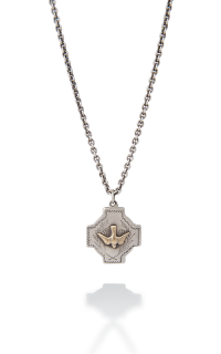 Brother Wolf Men's Necklaces KS59-14Y