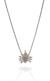 Brother Wolf Men's Necklaces KS71-SSP