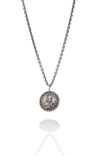 Brother Wolf Men's Necklaces KS10-SS