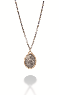 Brother Wolf Men's Necklaces KS36-SS