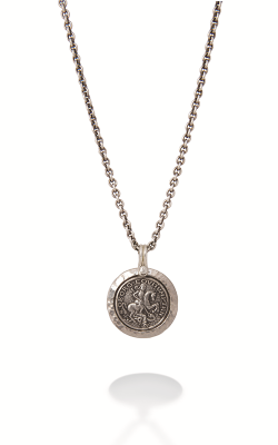 Brother Wolf Necklace KS30-SS product image