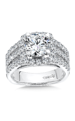 Caro74 Engagement ring CR115W product image