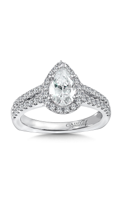 Caro74 Engagement ring CR845W product image