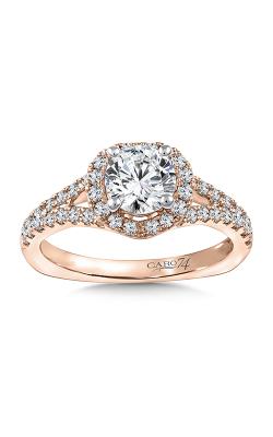 Caro74 Engagement ring CR821P-4KH product image