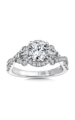 Caro74 Engagement ring CR803W product image