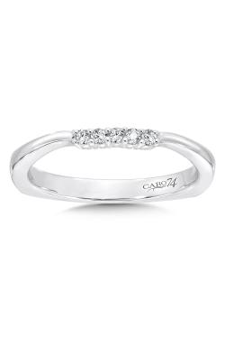 Caro74 Wedding band CR302BW-DIA product image