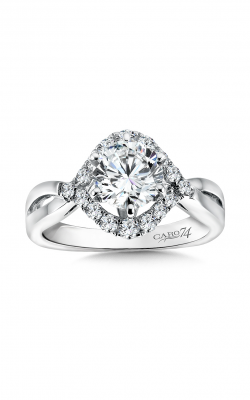 Caro74 Engagement ring CR168W-4KH product image