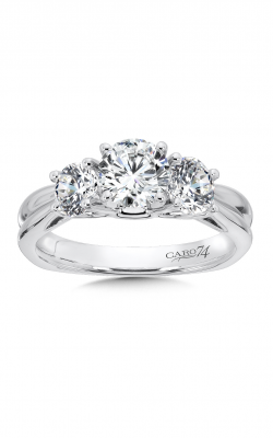 Caro74 Engagement ring CR217W-4KH product image