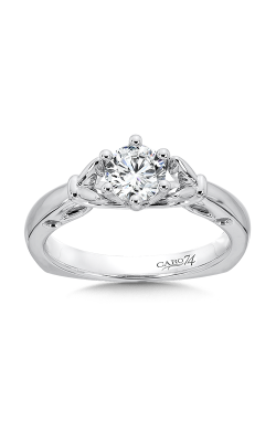 Caro74 Engagement ring CR400W-.625-4KH product image