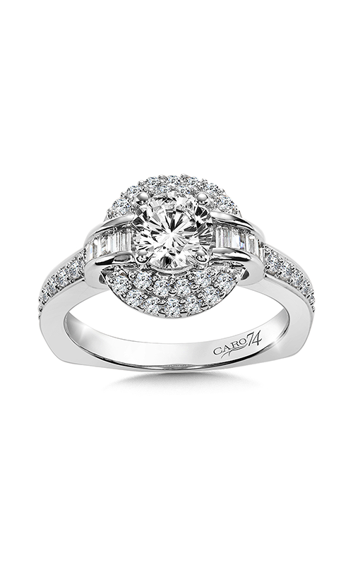 Caro74 Engagement ring CR854W product image