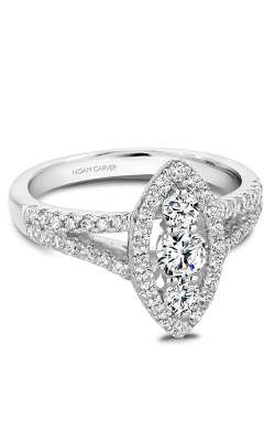 Carver Studio Engagement Rings S167-01WM product image