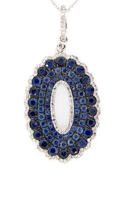 DILAMANI Venice Sapphire & Diamond Pendant AP17980SX-800W product image