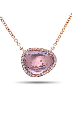 DILAMANI Rock Candy Amethyst & Diamond Pendant AP81620AM-800R product image