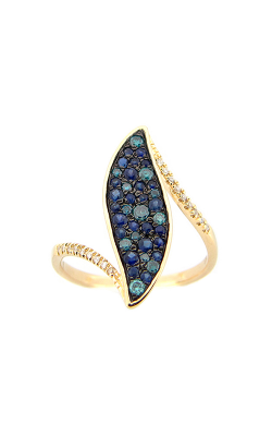 DILAMANI Venice Blue Diamond & Sapphire Ring AR17320SI-200Y product image