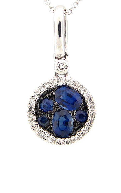 DILAMANI Venice Sapphire & Diamond Pendant AP17010S-800W product image