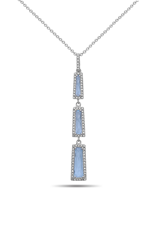 DILAMANI Rock Candy Blue Topaz & Diamond Pendant AP81030BT-800W product image