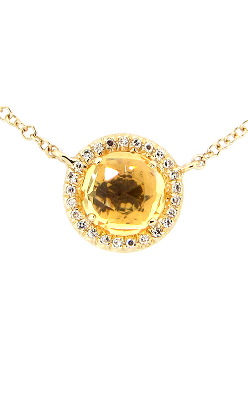 DILAMANI Rock Candy Citrine & Diamond Pendant AP81650CT-800Y product image