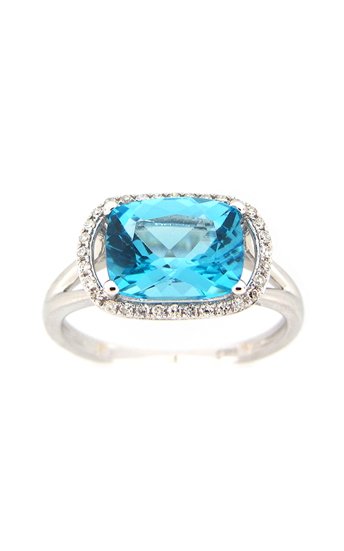 DILAMANI Rock Candy Blue Topaz & Diamond Ring AR14010BT-800W product image